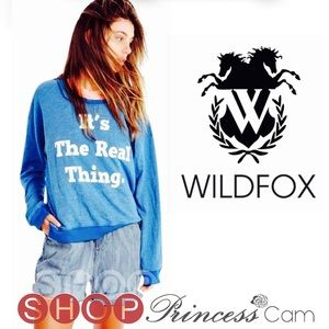 Wildfox Coca-Cola 'It's The Real Thing' Sweatshirt